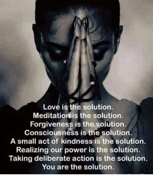 Solution Consciousness